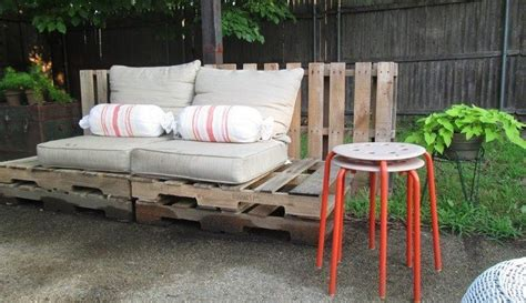 Diy Making Your Own Pallet Patio Furniture  Decor Around
