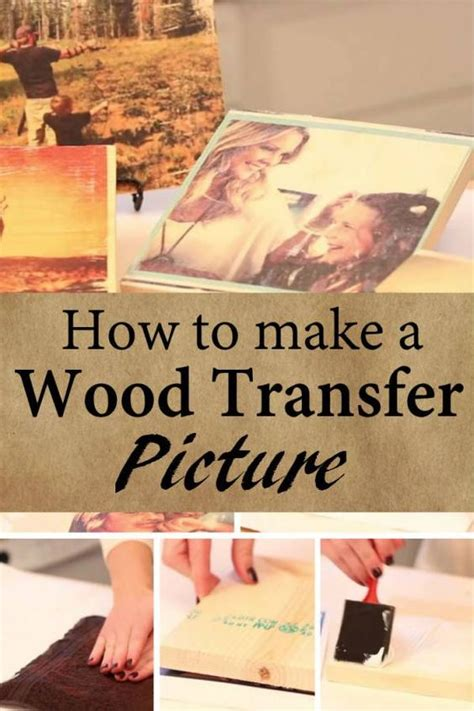 diy ideas  transfer   wood pretty designs