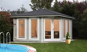 Haus Bausatz Holz : 5 eck gartenhaus 360x360cm holzhaus bausatz 44 doppelt r ~ Whattoseeinmadrid.com Haus und Dekorationen