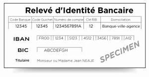 Ouvrir Un Compte Bancaire En Suisse En étant Français : le rib releve d 39 identite bancaire mon compte bancaire les cl s de la banque espace ~ Maxctalentgroup.com Avis de Voitures