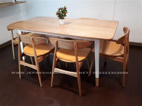 jual meja kursi cafe restoran jati minimalis terbaru murah