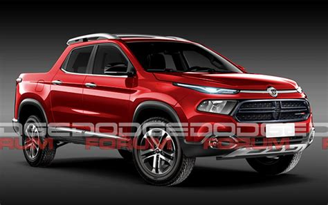 fiat toro bed exclusive the next dodge dakota could look like this