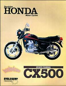 Honda Cx500 Shop Manual Service Repair Book Cx 500 Twin