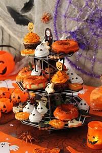 Buffet Halloween : buffet di halloween a misura di bambino idee per feste ~ Dode.kayakingforconservation.com Idées de Décoration