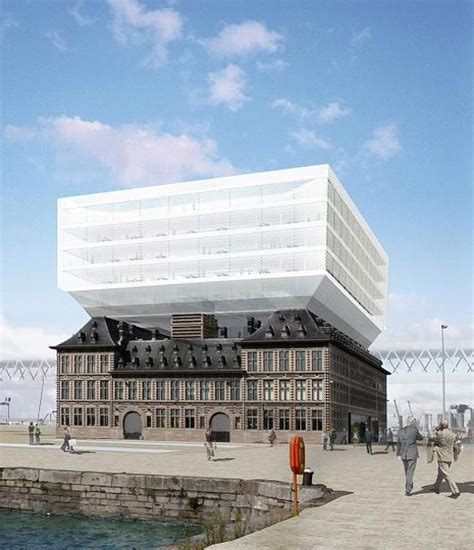 Zaha Hadid To Design New Port House In Antwerp