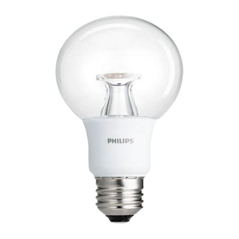 philips 40w equivalent soft white clear g25 dimmable led