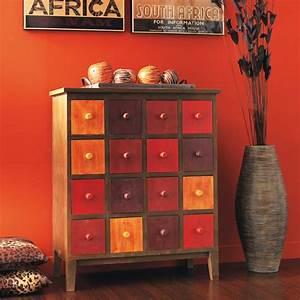 Cabinet Maison Du Monde : cabinet rouge solferino maisons du monde home ~ Nature-et-papiers.com Idées de Décoration