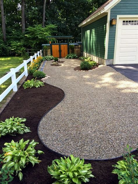 the 25 best river rock landscaping ideas on