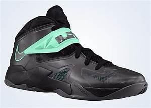 Nike Zoom LeBron Soldier 7 - Black - Green Glow ...