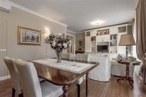 soggiorno e sala da pranzo soggiorno sala da pranzo in stile in stile classico di