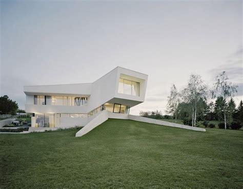 Futuristic Villa In Vienna by Homogeneous Freundorf Villa Near Vienna Austria