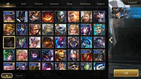 play  mid lane arena  valor aov wiki guide