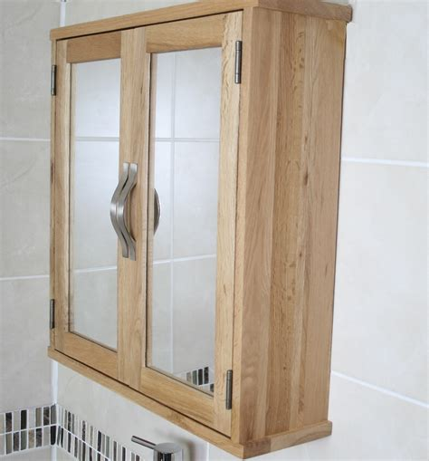 oak bathroom wall cabinets solid oak wall mounted bathroom cabinet 352