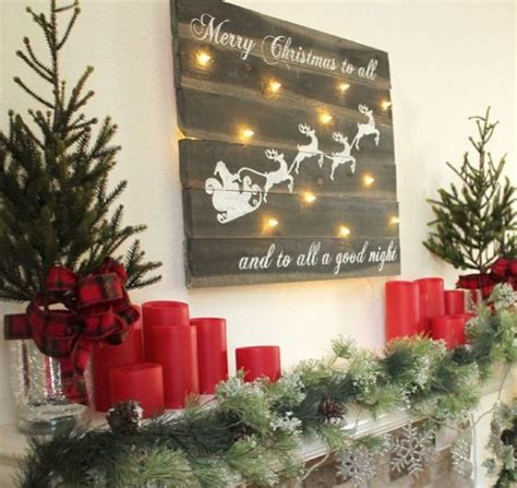 creative reclaimed wood christmas decoration ideas