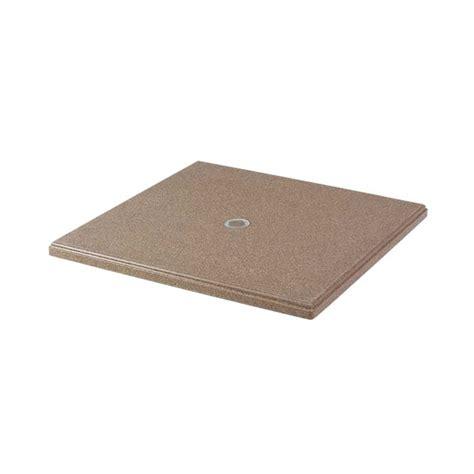 36 quot square faux granite table top with umbrella
