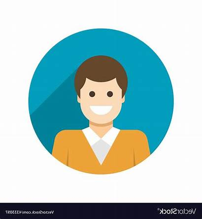 Avatar Icon Profile User Vector Flat Business
