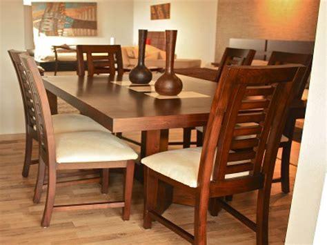 mesa de comedor de madera modelo marmol mesas en
