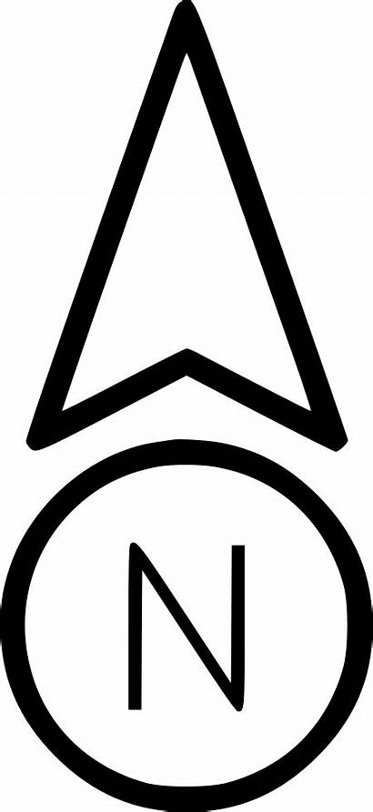 Arrow North Triangle Direction Icons Computer Transparent