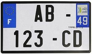Plaque Immatriculation Voiture : plaque d 39 immatriculation motos pvc alu tous formats ~ Melissatoandfro.com Idées de Décoration
