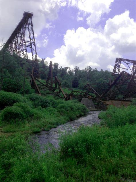 kinzua bridge pennsylvania oc    natural