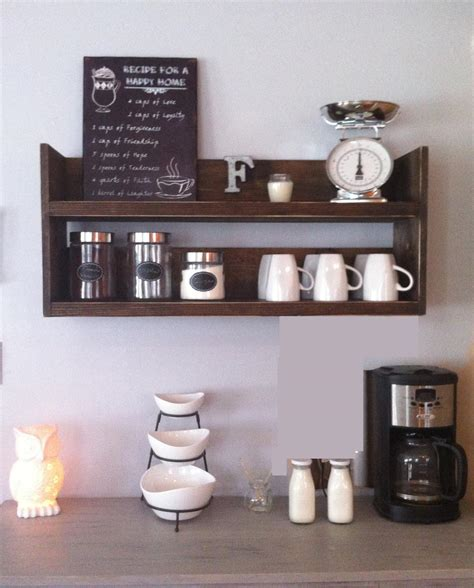 Rustic Kitchen Wall Shelves Best Decor Things