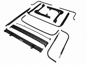 bestop jeep wrangler oe style soft top replacement bow With jeep tj repair