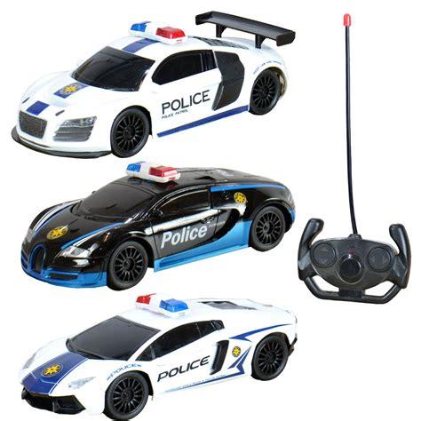Rc Radio Remote Control Police Car Audi Bugatti