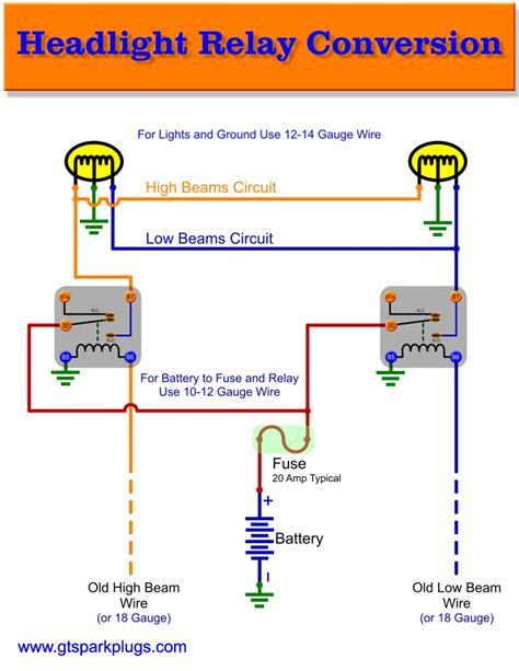 Ford Fog Light Headlight Relay Wiring