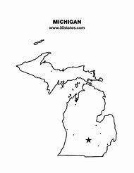 Best Michigan State Map Ideas And Images On Bing Find What You