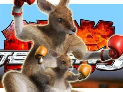 tekken  boxing kangaroo nixed due  animal activists