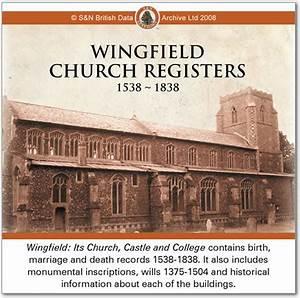 Genealogy Reviews - Wingfield Church Registers 1538-1838