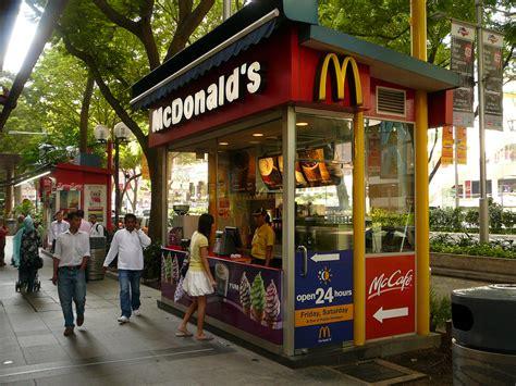 kiosk stand singapore mcdonald 39 s kiosk on orchard road in singapore kiosk