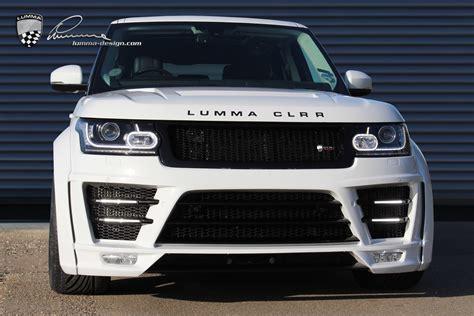 lumma design clr  gt evo widebody  range rover mk