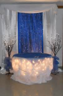 royal blue and gold wedding decorations royal blue cake table by www decorativeessentials net wedding decorations royal