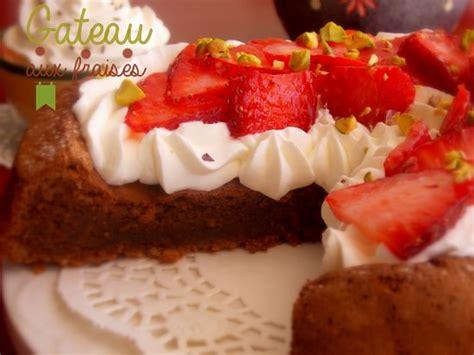 de cuisine ramadan gateau aux fraises chantilly et chocolat le