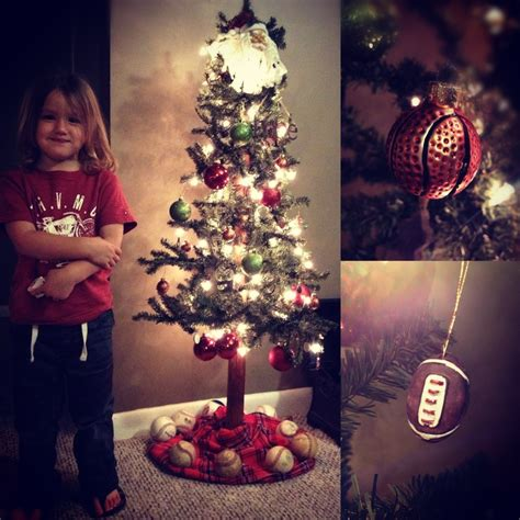 1000 images about sports theme christmas tree on
