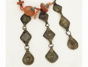 bijou berbere amazigh collier corail ambre pate de verre With bijoux argent