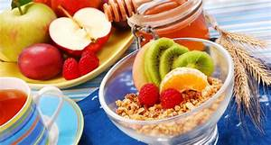 ontbijten met fruit afvallen