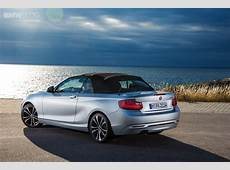 Threecylinder BMW 218i Coupe and 218i Convertible coming