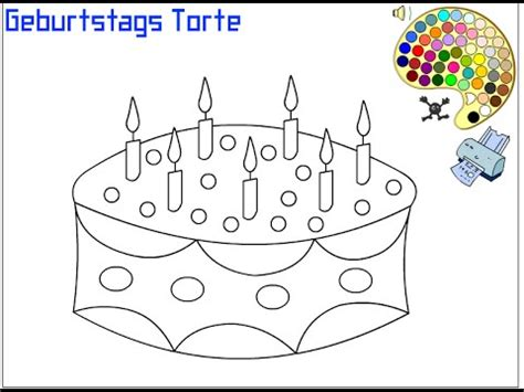 cake coloring pages  kids cake coloring pages youtube