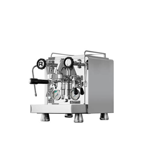 Dual independently operated pid controlled boilers allow for optimum extraction of any coffee type or roast style. Machine expresso - Rocket Espresso R58 - CoffeeAvenue