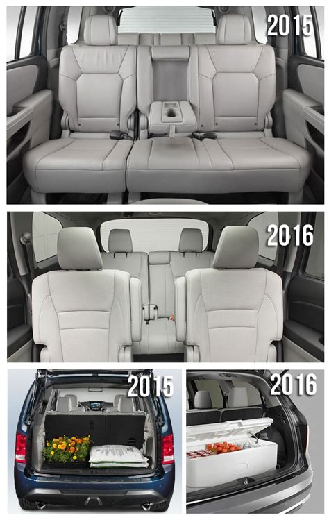 honda pilot captain chairs second row autos post