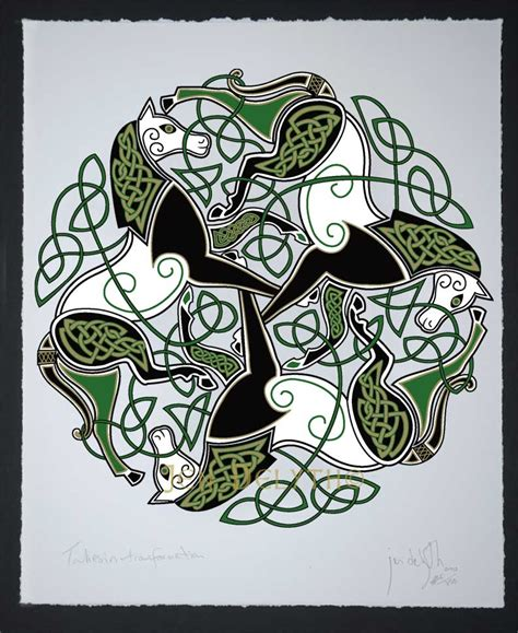 Epona - traditional - Celtic Art Open Edition Giclee Print ...