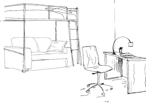 comment dessiner sa chambre best une chambre dessin gallery awesome interior home