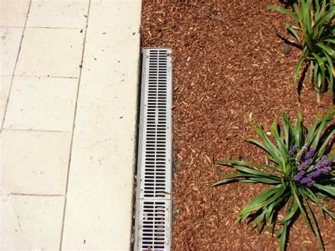 yard drainage  landscape design
