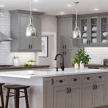 semi custom kitchen  bath cabinets   wood