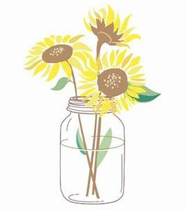 Sunflower in a Jar Best in Tees and More
