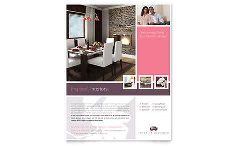 interior designer postcard template word publisher