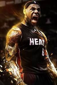 LeBron James Heat iPhone Wallpaper   Photo Galleries and ...
