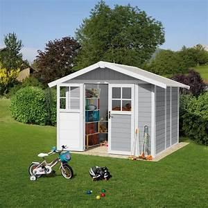 abri de jardin resine grosfillex 490 m2 ep 26 mm deco With abri de jardin resine grosfillex